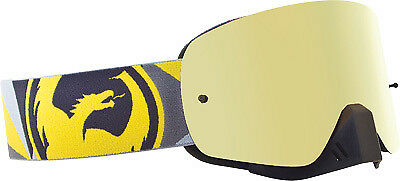 Dragon Alliance NFX Ionized Goggles Flair Yellow/Gray Gold Ionized P722-1515