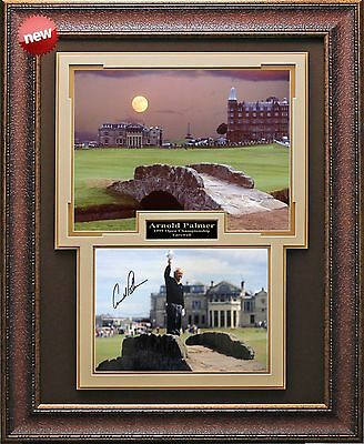 Arnold Palmer 1995 Open Farewell Signed Photo Framed