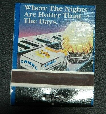 Club Camel When The Nights Are Hotter Vintage Matchbook Matches Matchbox