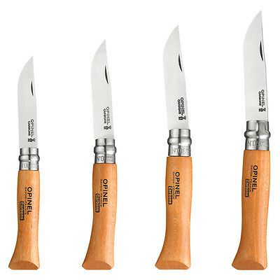Couteau Opinel Carbone N° 6 7 8 9 Taille Au Choix Neuf