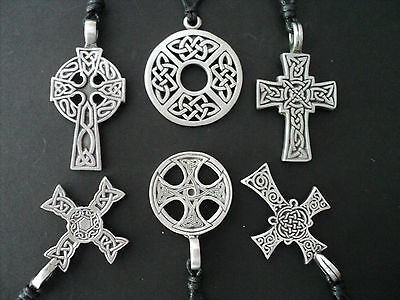 New Celtic Necklace Nickel Free Pewter Tribal Teen Surf Pirate Dragon