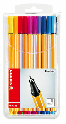 Stabilo Fineliner point 88 Etui mit 20 Stiften 0,4 mm