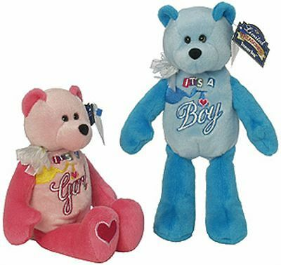 It's a Boy/Girl Bear - Welcome Baby - Limited Treasures