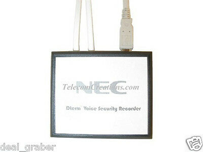NEC DTERM VOICE SECURITY RECORDER Stock# 780275  Refurbished