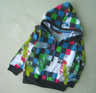 Baby Boys Long Sleeve Hoodie Zip Up Jumpers Cotton Size 24mths, 3yrs BNWT!