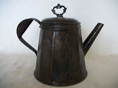 Tole Tin Pitcher