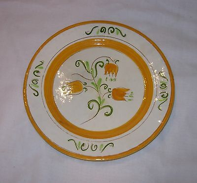 Old Vintage Stangl Pottery Tulip Yellow Luncheon Plate