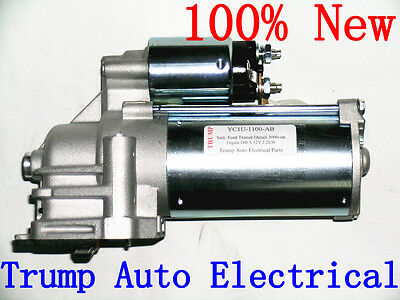 Starter Motor For Ford Transit VH VJ engine D4FA H9FA 2.4L Turbo Diesel 00-06