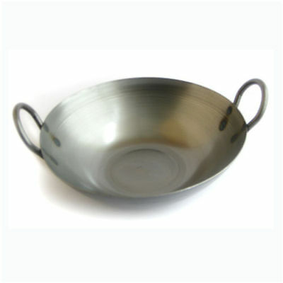 """12"""" Balti Pan Carbon Steel  - Commercial Quality"""
