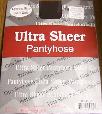 Choose Color--Queen Size Ultra Ssheer Pantyhose,Stocking , 160~220 LBS , 1X~3X