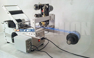 NEW Automatic Round Bottle Labeling Machine with Date printing machine us1