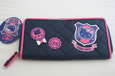 NEW AUTHENTIC SANRIO HELLO KITTY CREDIT CARD ID CHECK CHANGE LONG WALLET