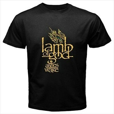 Lamb Of God Ashes Of The Wake Black T-Shirt Size S to 3XL Brand New
