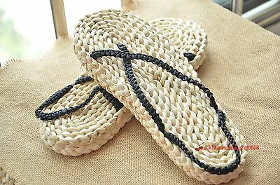 One Piece Monkey D Luffy Cosplay Costume Straw Shoes Sandals Slipper Adult