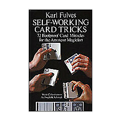Self Working Card Tricks by Karl Fulves book playing cards deck magic tricks