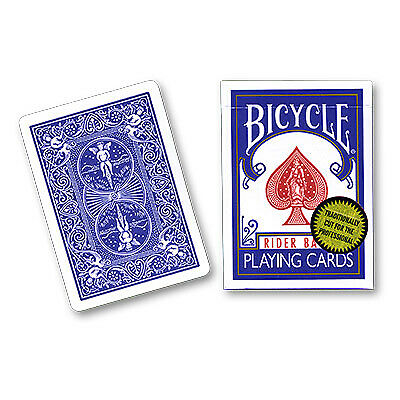 Bicycle Playing Cards Gold Standard BLUE BACK deck  magic trick gaff