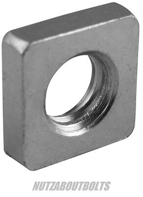 m3/4/5/6/8mm square nut/nuts a2 stainless steel metric choose size & qty
