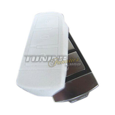 Cover Case Chiave Tasca chiave Cover-chiave VW Passat 3C B6 CC + Variant BIANCO