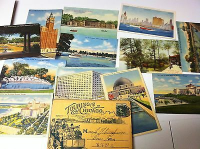 Postcards Of Chicago Ill.