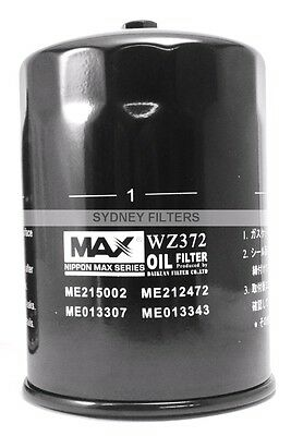 Z372 Oil Filter with DRAIN BOLT/PLUG. Nippon MAX ME013307 ME215002 ME013307