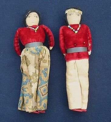 American Indian Iroquois Tribe Dolls - Hand Made