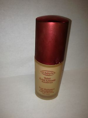 Clarins True Radiance Foundation Light Reflectin Tender Ivory 07 No Box Lot L