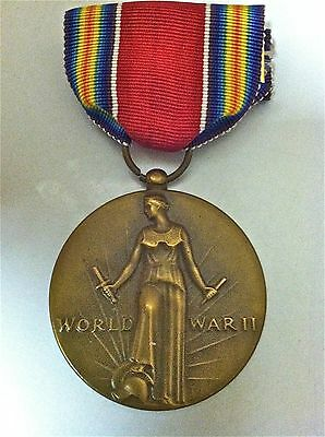 Vintage WWII US Army World War II USA Victory Medal