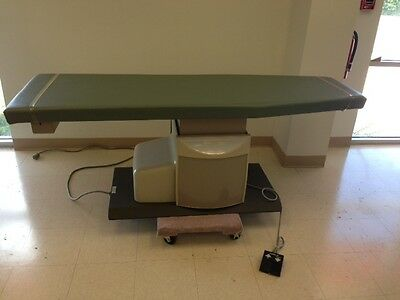 MIDMARK Ritter 306 Power Exam Table Used Treatment Moss Upholstery Excellent