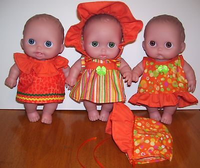 """NG Creations 8"""" - 9"""" Chubby Baby Doll Sew Patterns fit Berenguer Lil Cutesies #1"""