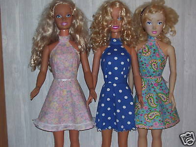 """NG Creations Sew Pattern #9 Backless Summer Dress fits 36"""" My Size Barbie Doll"""
