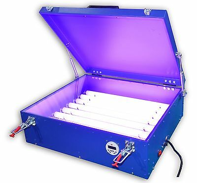 "110V Screen Printing UV Exposure Unit 20""x24"" With Covers 8 Tubes"
