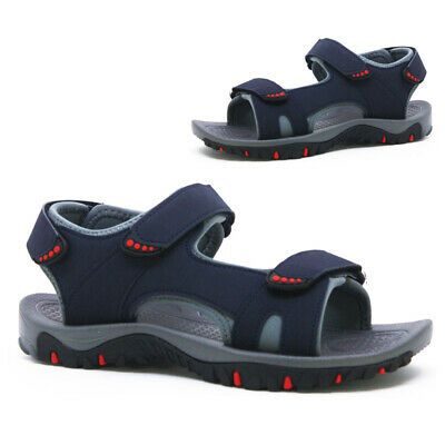 New Mens Triple Walking Summer Holiday Beach Mules Sandals Shoes Size New