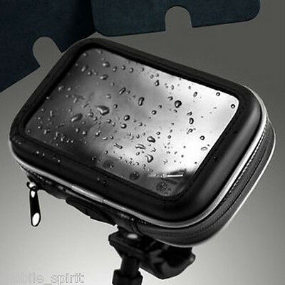 "Waterproof bicycles/motorcycle Case & Mounts for 5"" Garmin Nuvi, TomTom GPS"