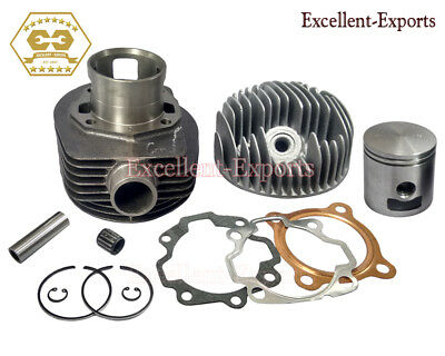 Vespa Px150 P150E Lml Cylinder Piston Ring Kit With Head And Spares 3 Port P2002