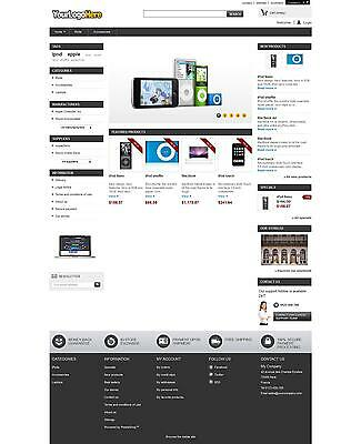 Ecommerce Store / Shop Website, 12 Months Hosting, Dedicated IP & SSL included