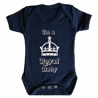 Im A Royal Baby - Baby Grow - Baby Wear - Funny Baby Grows - Royal Theme