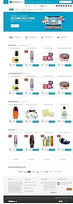 Ecommerce Store / Shop Website, 12 Months Hosting, Latest Software