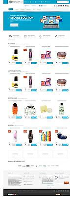 Ecommerce Store / Shop Website, 12 Months Hosting, Dedicated IP & SSL & Domain