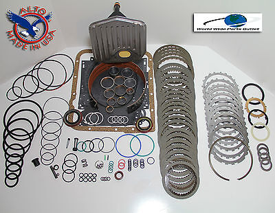 TH700R4 Rebuild Kit Heavy Duty HEG LS Kit Stage 4 w/3-4 Power Pack 1987-1993