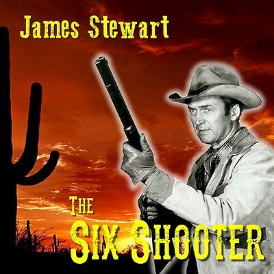 Six Shooter - Jimmy Stewart  - OTR Radio Show - All Existing Episodes - 1 MP3 CD