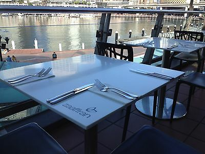 Cafe Restaurant Furniture Table Tops Stone Look Sydney