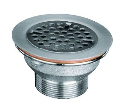 "Free Flow Drain with 2"" (50mm) NPS - 3-1/8"" Sink Opening"