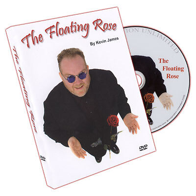 The Floating Rose by Kevin James w/DVD magic trick close-up learn