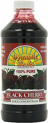 Dynamic Health Black Cherry Concentrate 473ml Helps Gout & Arthritis