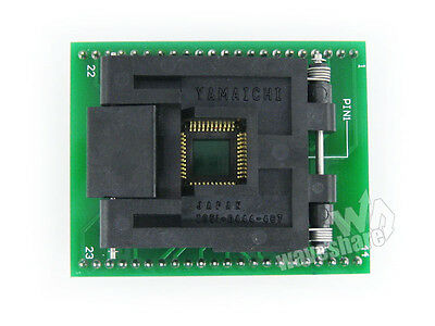 QFP44 TQFP44 FQFP44 to DIP44 IC51-0444-467 IC Test Socket Programming Adapter