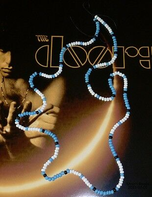 Jim Morrison Doors Bead Necklace Cobra Young Lion Photo Shoot Turquoise Version