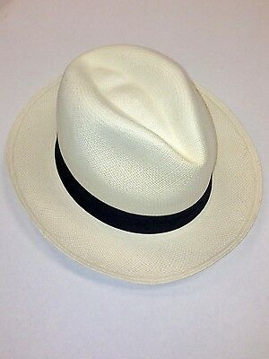 VINTAGE FOLDABLE STRAW Hat Hand Made in Taiwan - In Original Box ... 5cc76b222f13