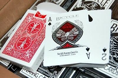 RED Ellusionist Masters Edition Bicycle deck of Playing Cards Elegant Poker