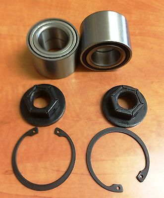 Ford Focus 1998-2004 Rear Wheel Bearing Kits  Bearings Hd Top Quality X 2 New