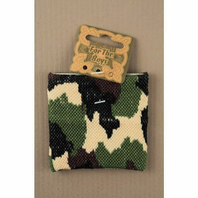 Boys / Mens Camouflage Camo Army Wristband Sweatband Party Bag Filler